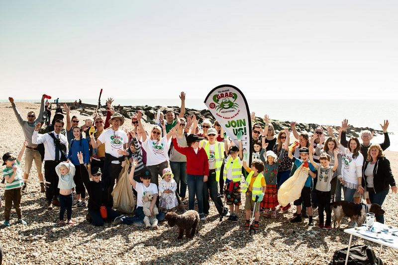 GRAB and Surfers Against Sewage - Big Spring Beach Clean